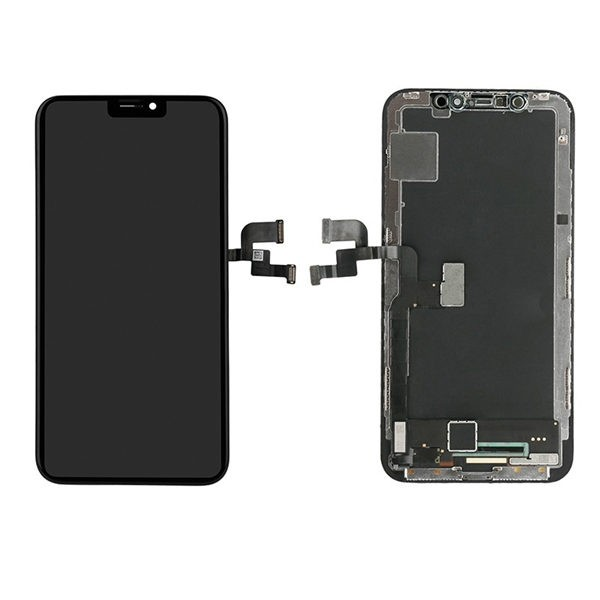 For iPhone X LCD Display and Touch Screen Digitizer Assembly with Frame Replacement - Hard OLED - XL