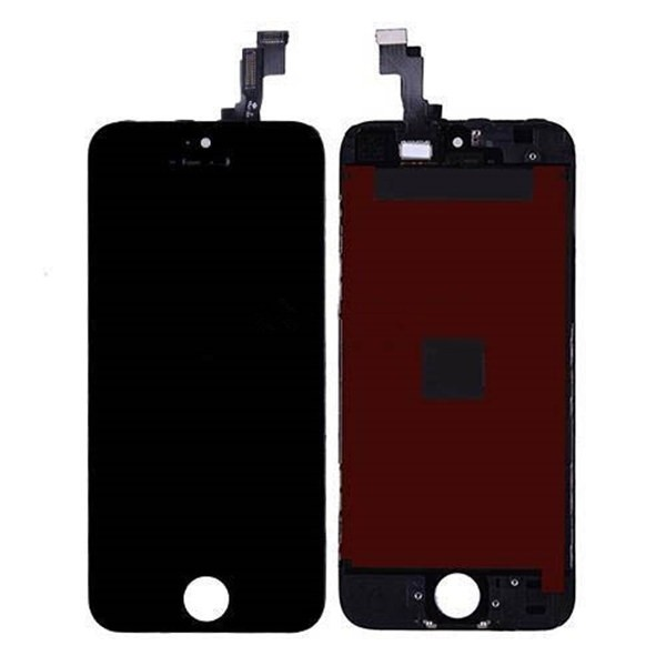 For iPhone 5S LCD Display and Touch Screen Digitizer Assembly with Frame Replacement - TianMa - Standard Aftermarket (G+G)