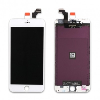 For iPhone 6 Plus LCD Display and Touch Screen Digitizer Assembly with Frame Replacement - Sharp - 3M ESR- Premium Aftermarket